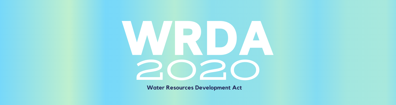 Water Resources Development Act of 2020